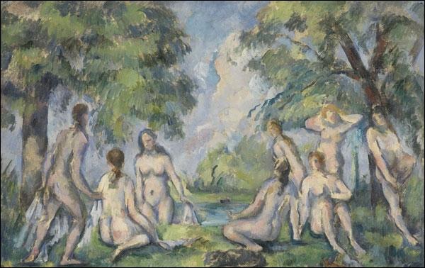Qui a peint Les baigneuses vers 1890 ?