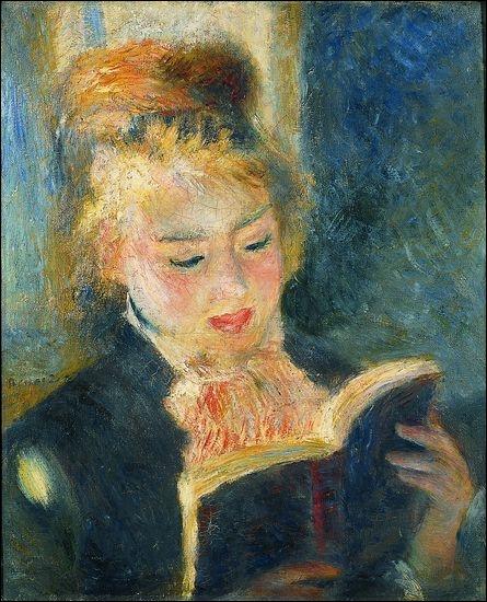 Qui a peint La liseuse en 1890 ?