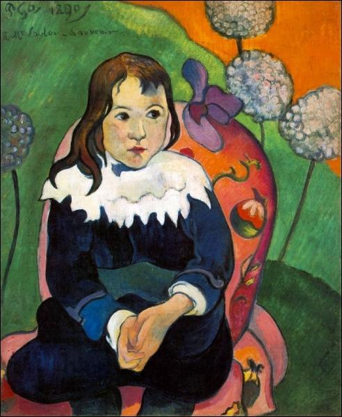 Qui a peint Monsieur Loulou en 1890 ?