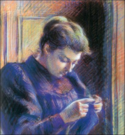 Qui a peint Portrait de Madame Berthier vers 1890 ?