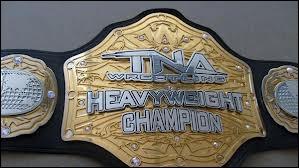 Qui a été le premier champion poids lourds de la TNA ?