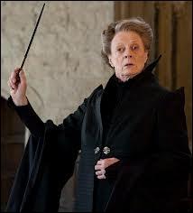 De quelle maison Minerva McGonagall est-elle la directrice ?