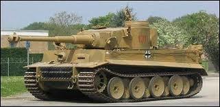 Lequel de ces chars allemands est le plus puissant ?