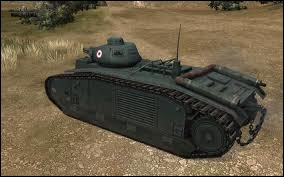 Quel est le nom de ce char français ?