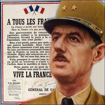 Parmi ces citations, laquelle n'est pas du Général de Gaulle ?