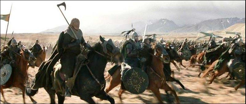 Comment s'appellent les chevaux des Rohirrims ?