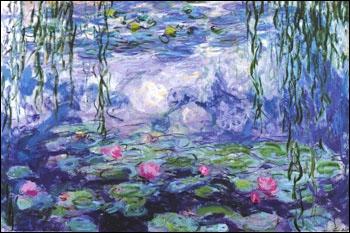 Quel peintre est célèbre pour avoir peint des ''nénufars'' ?
