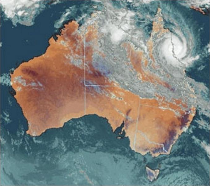 L'Australie couvre la plus grande partie de l'Océanie avec 7 618 000 km² et comporte six États. Parmi ces quatre propositions, laquelle n'est pas un État de l'Australie, mais une province du Canada ?