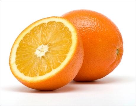 Comment dit-on  une orange  en anglais ?