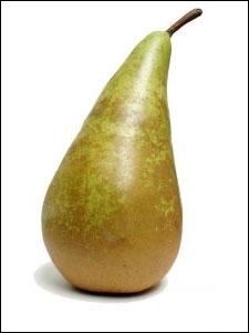 Comment dit-on  une poire  en anglais ?