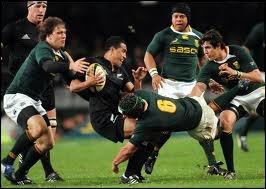 De quel nom d'antilope sont surnommés les joueurs de l'équipe d'Afrique du Sud de rugby à XV ?