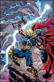 BD : je suis un dieu nordique qui a pour arme un marteau. Mon nom est celui d'un héros de comics américain. Je suis :
