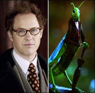 Archie Hopper est Jiminy Cricket. C'est lui-même qui a voulu cette transformation en criquet dans le monde des contes. Qui a accepté de le transformer ?