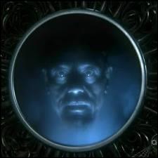 Le miroir magique, qui appartient à la Reine, a emprisonné en fait le génie de la lampe. Pour quelle raison ?