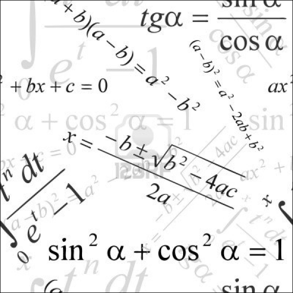 Quel mot lié aux mathématiques ne vient PAS de l'arabe ?