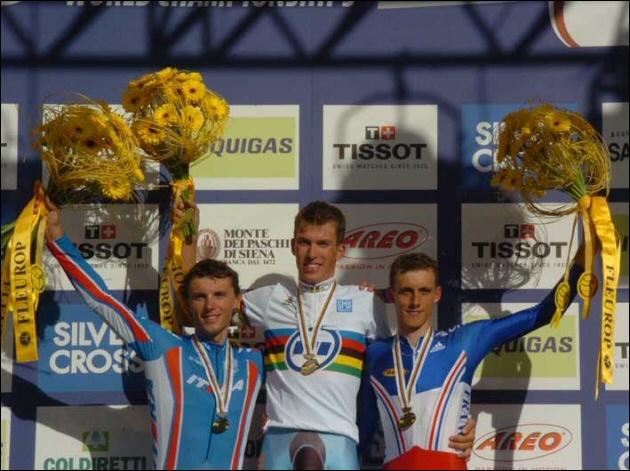 Quel cycliste a été champion du monde de contre-la-montre individuel en 1997 ?