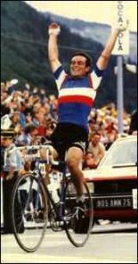 Quel cycliste est surnommé le ''Blaireau'' ?