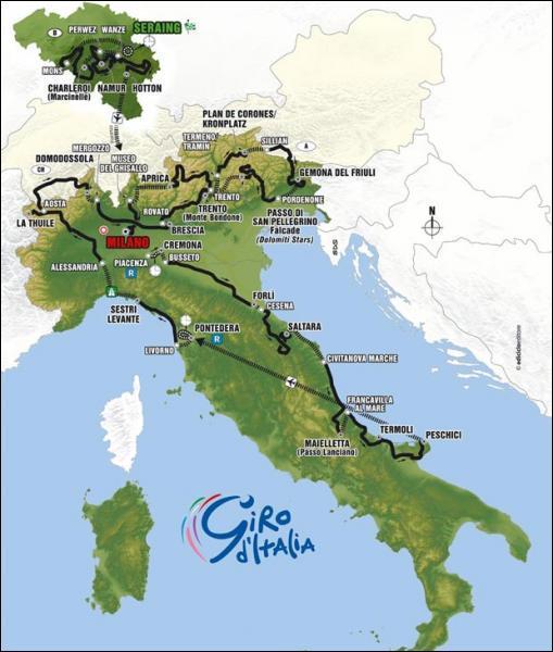 Quel fut le vainqueur du Giro (Tour d'Italie) en 2004 ?