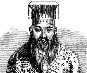 L'ensemble des notes prises par ses élèves constitue Les Entretiens. Il est l'auteur du corpus des Classiques qui devint canonique. Quel philosophe naquit en 551 et mourut 479 dans l'état de Lu ?