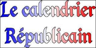 Quelle est la terminaison du nom des 3 mois d'automne du calendrier révolutionnaire français ?