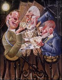 Les joueurs de cartes.