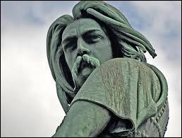 Quel Gaulois est représenté par cette sculpture en cuivre réalisée par Aimé Millet en 1865 ?
