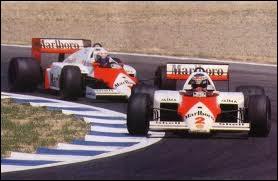 Le 26 octobre 1986, quel sportif remporte le championnat du monde des pilotes de Formule 1 au volant d'une McLaren MP4-2C ?