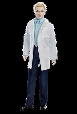 Vêtu professionnellement de sa blouse blanche, voici Carlisle, qui est le père de ?