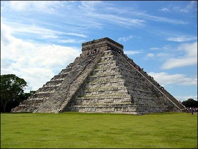 Chichen Itza. Ancienne cité des Mayas.