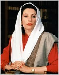 Cette femme fut Premier ministre du Pakistan et la première femme élue démocratiquement à la tête d'un pays musulman. Quel était son nom ?