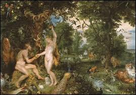 Adam et Eve vivent nus et heureux dans un jardin paradisiaque. Quel est le nom de ce jardin luxuriant ?