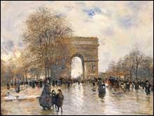 Quand fut scellée la première pierre de l'Arc de Triomphe de l'Étoile ?