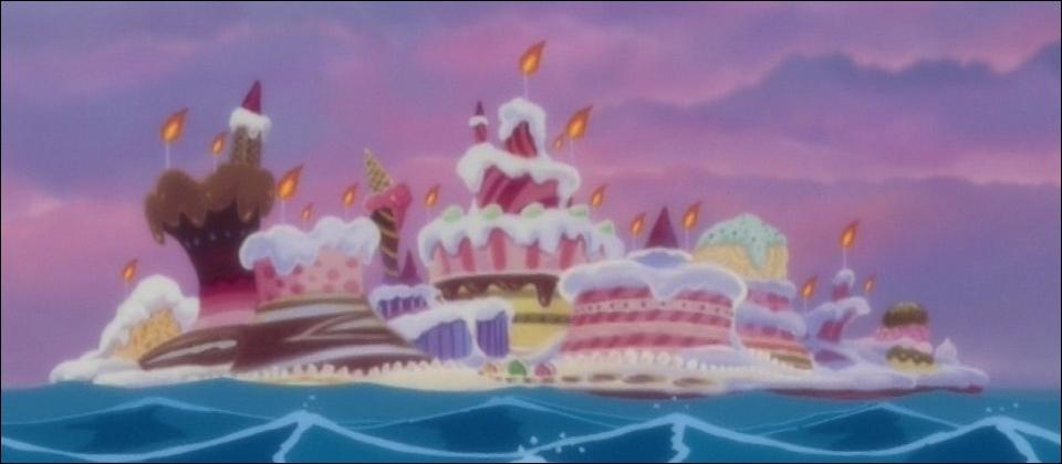 Whole Cake est une île du Nouveau Monde :