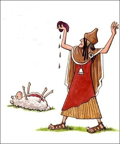 Religion. Ils sont au nombre de 15 sous Sylla et de 16 sous César. Ils assistent normalement les consuls, et examinent les entrailles d'un animal sacrifié. Qui sont-ils ?