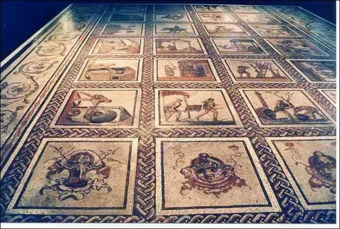 Division de la journée. Quand se commence et se termine la journée de travail du romain ?