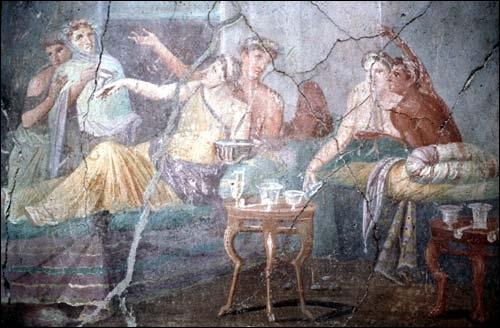 Les repas dans la journée s'appellent :  jentaculum, prandium et ...