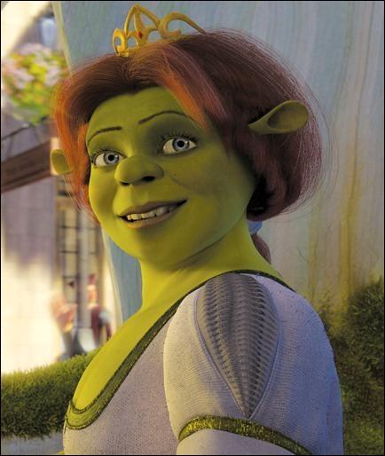 Dans le premier volet, Fiona se transforme en ogresse ...