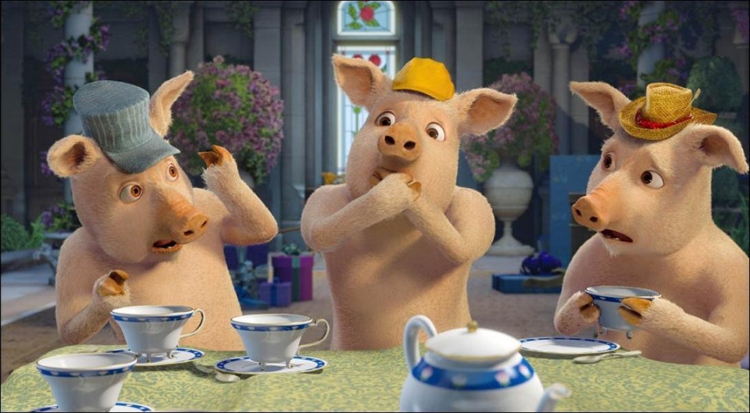 Avec quel accent les trois petits cochons parlent-ils ?