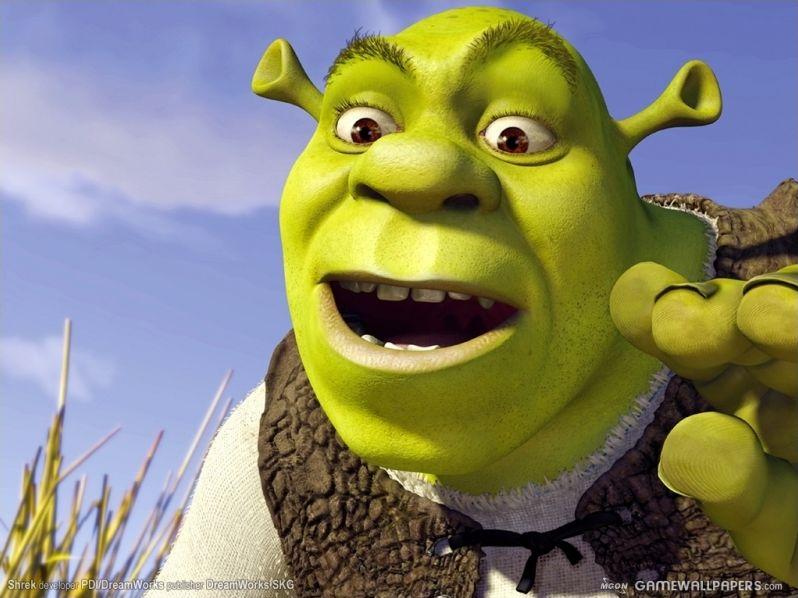 Les personnages de la tétralogie Shrek
