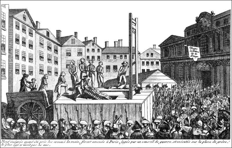 La Révolution est menacée. La Convention est cernée par les manifestants le 5 septembre 1793. Quelle mesure mettra-t-elle à l'ordre du jour pour tenter de sauver les acquis de la Révolution ?