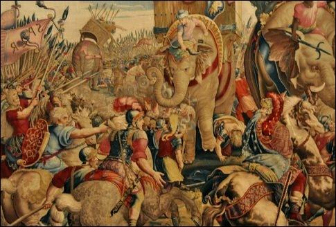 Qui capitula devant les armées romaines conduites par Scipion, en 202 ? Où ?