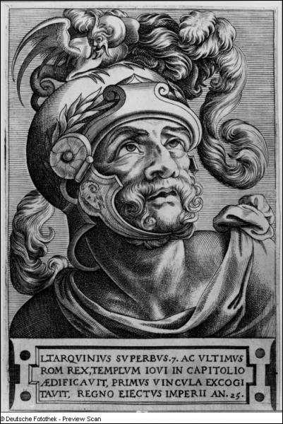Rome fit des crises de croissance entre 509 et 350. Quand eut lieu la Révolution libératrice qui chassa le roi étrusque Tarquin le Superbe ?