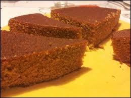 A quel goût est ce gâteau ?