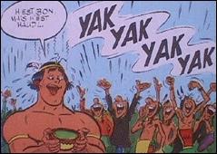 H'ête bon, mais h'ête haud  ! ... Dans quelle bande dessinée peut-on lire cette expression ?