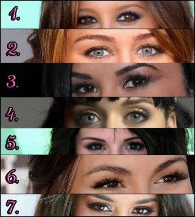 Quels sont les yeux de Selena Gomez ?