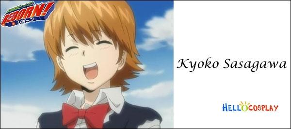 De quelle couleur sont les yeux de Kyoko ?