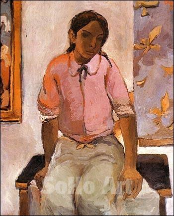 Indian Girl, 1952