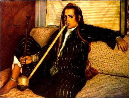 La fumeuse de haschisch, 1900