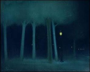 Le parc la nuit, 1892-95