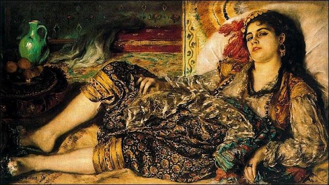 Odalisque ou Femme d'Alger, 1871